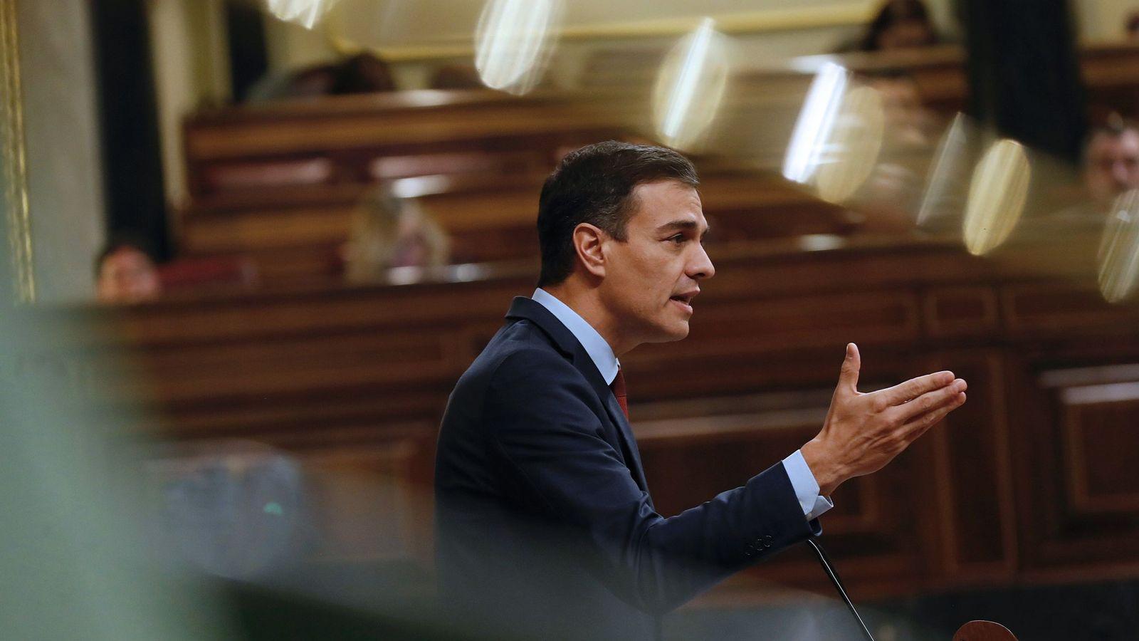 Foto: Pedro Sánchez, el mejor valorado de los políticos españoles. (EFE)