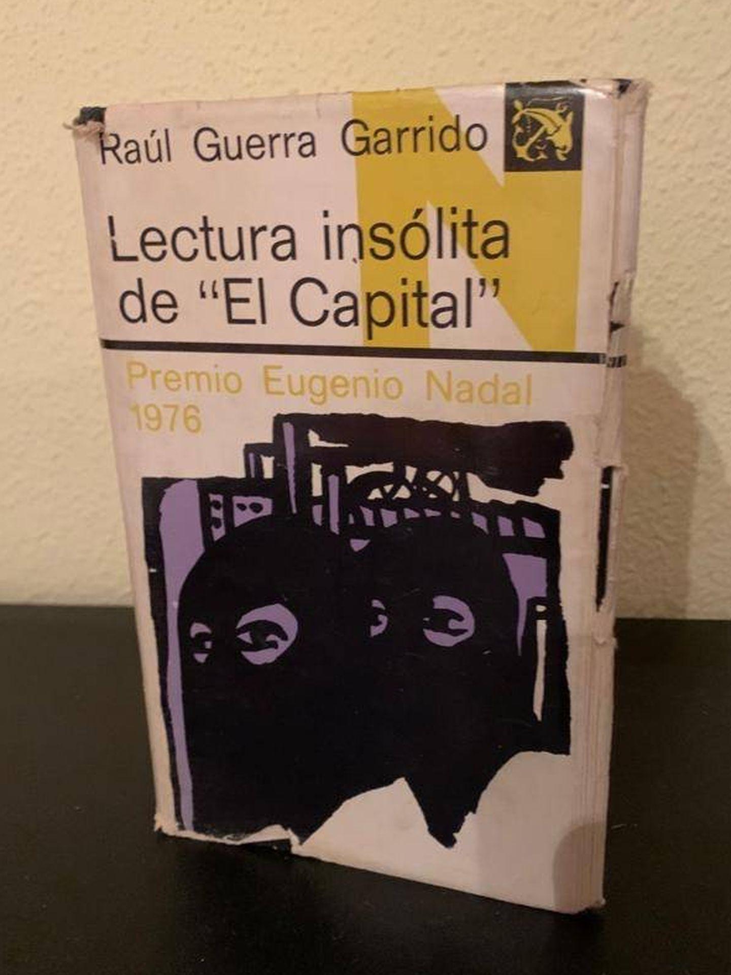 'Lectura insólita de El Capital', de Raúl Guerra Garrido.