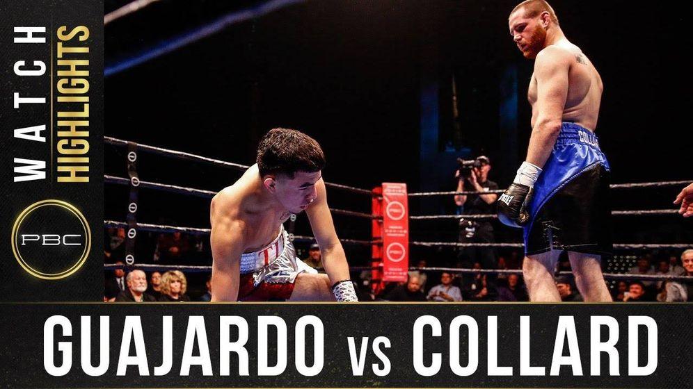 Foto: Combate Guajardo vs. Collard. (Premier Boxing Champions)