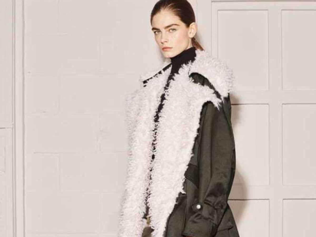 Foto: El abrigo de Zara. (Cortesía)