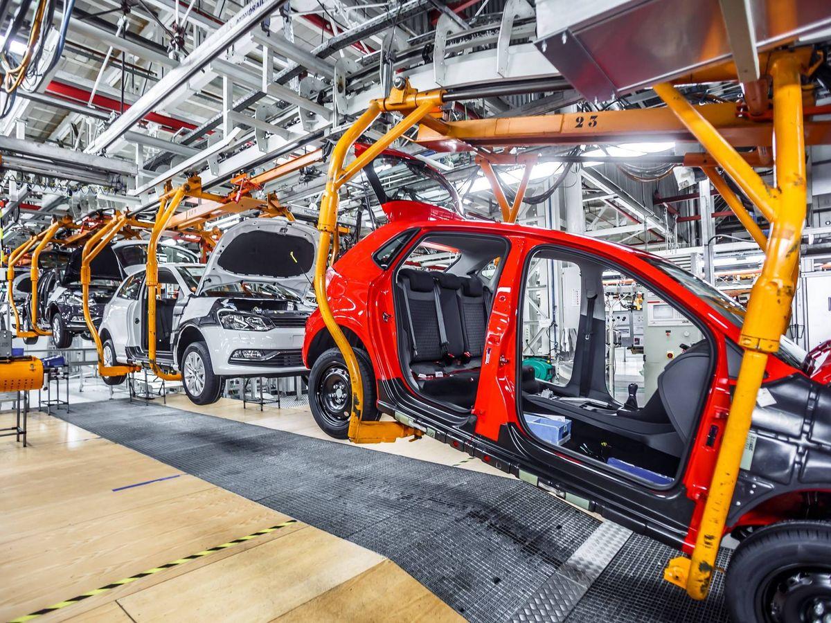 Foto: Planta de Volkswagen.