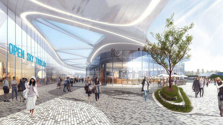 Open Sky copiará el modelo Dubái: así será su 'parque de atracciones' en Torrejón