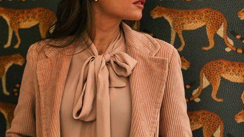Lourdes Montes dice sí a la pana con este dos piezas perfecto para ir a trabajar