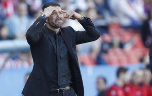 Simeone tiró de psicología para hacer soñar al Atleti con el 'doblete'