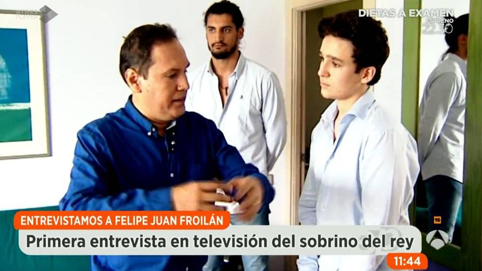 Todo lo que ha dicho Froilán en su primera entrevista en televisión