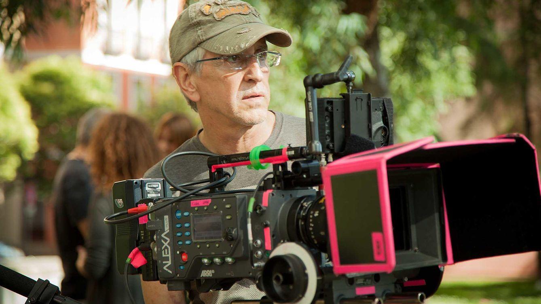 Foto: Antonio Hernández durante el rodaje de 'Matar el tiempo'