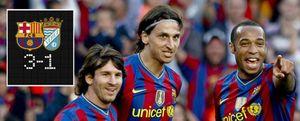 Foto: El Barça resopla de alivio y ya piensa en el Inter
