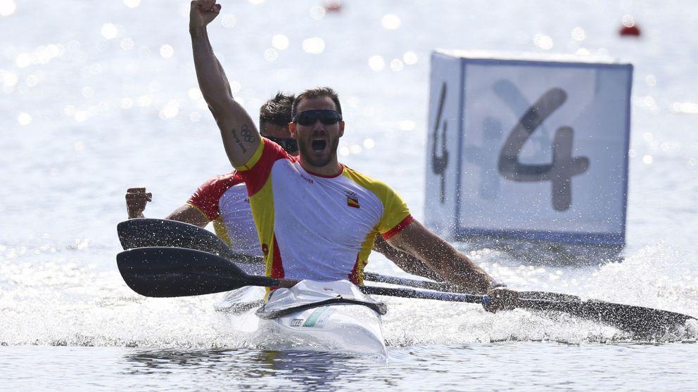 Craviotto y Toro se cuelgan el oro en el K2-200 y dan la octava medalla a España