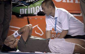 David Ferrer se retira de Acapulco tras lesionarse frente a Anderson