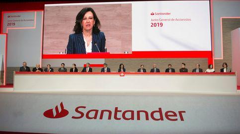 Los accionistas del Santander castigan a Carnegie-Brown por la gestión de Orcel