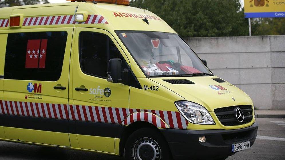 Foto: Una ambulancia - Archivo. (EFE)