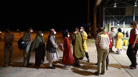 Una minoría de los afganos evacuados pide quedarse en España