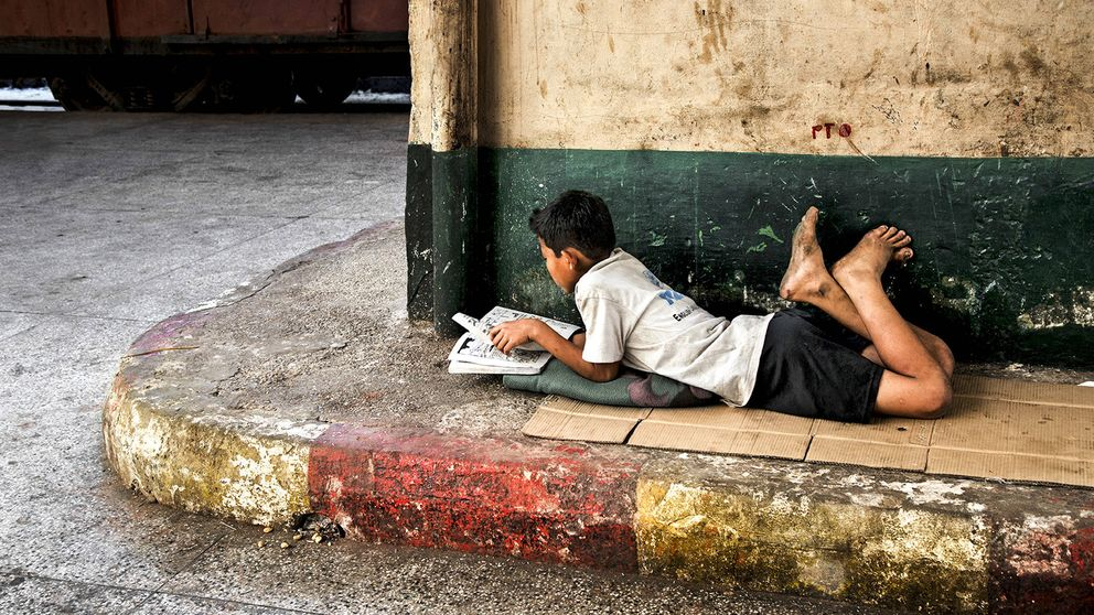 'Sobre la lectura', de Steve McCurry