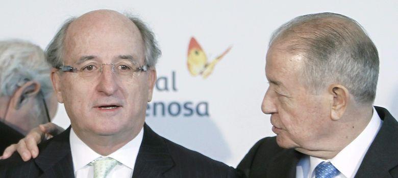 Foto: Antonio Brufau y Salvador Gabarró (EFE)