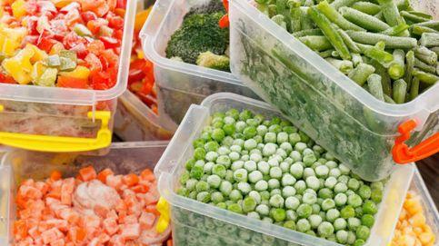 El asalto de los alimentos congelados en la cesta de la compra