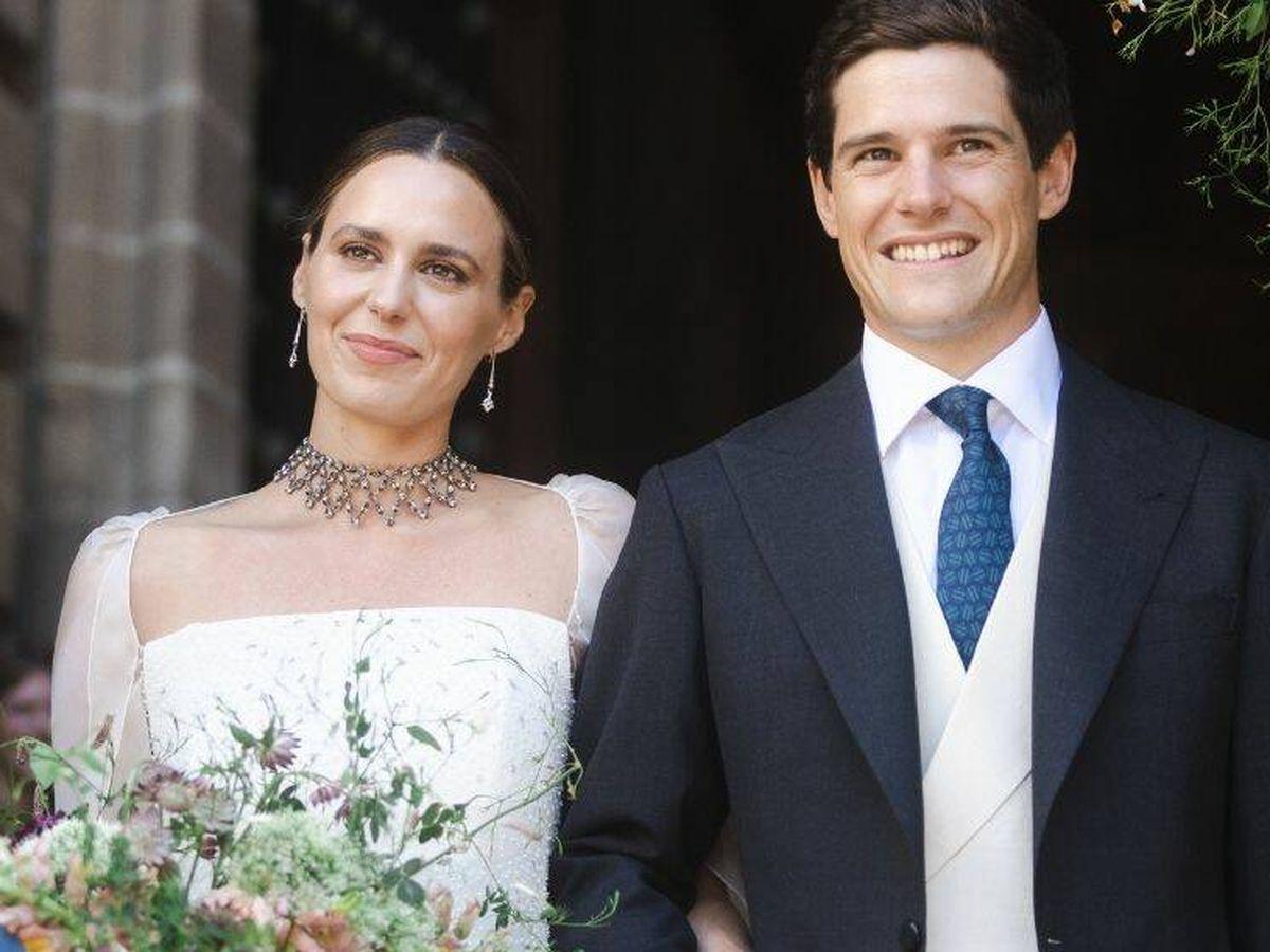 Foto: Claudia Osborne y José Entrecanales. (Getty)