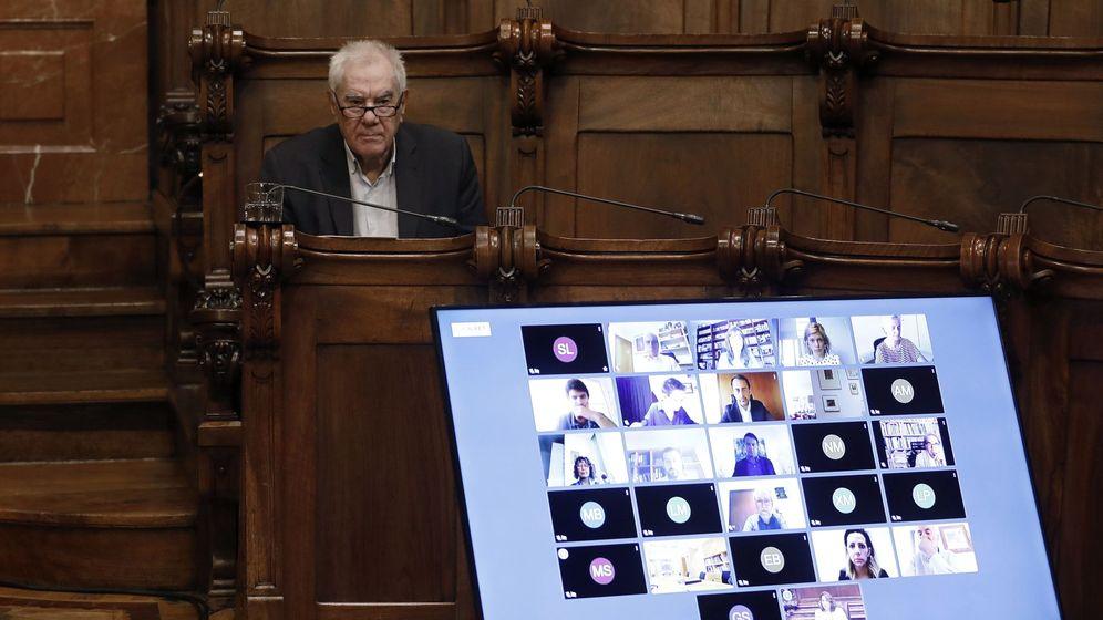 Foto: El lider de ERC en el Ayuntamiento de Barcelona, Ernest Maragall. (EFE)