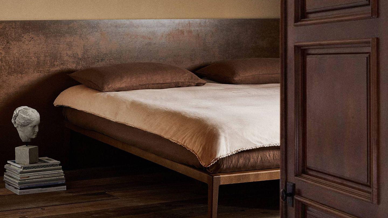 Fundas nórdicas minimalistas en Zara Home. (Cortesía)