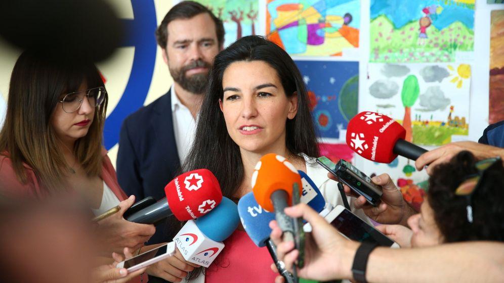 Foto: La candidata de Vox a la Comunidad, Rocío Monasterio. (EFE)