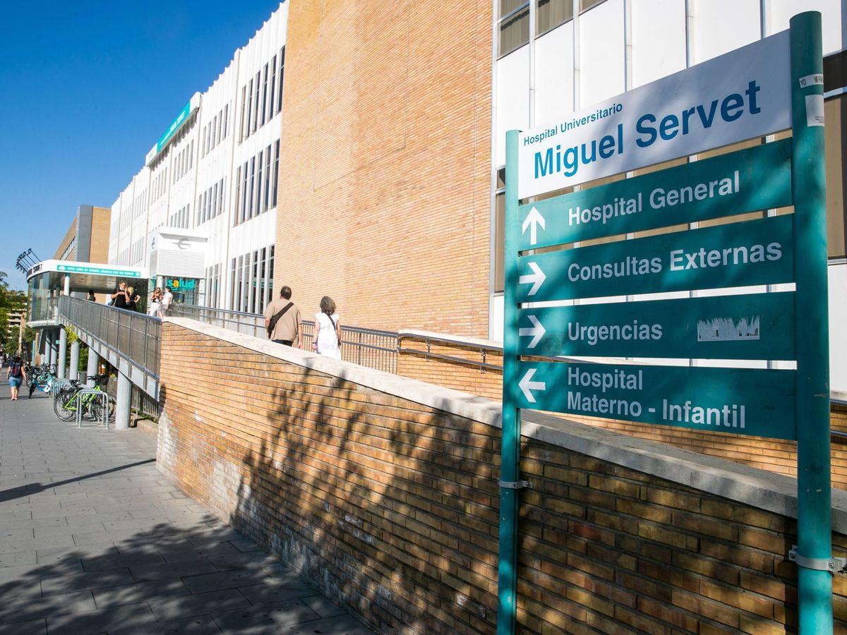 Foto: Hospital Miguel Servet en Zaragoza. (EFE)