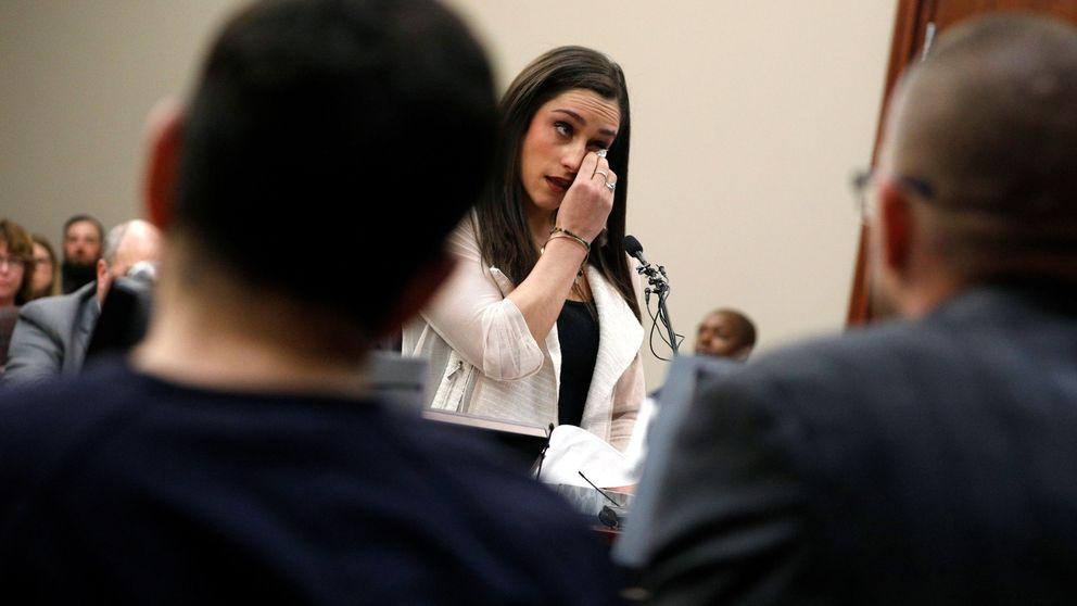 Las víctimas de los abusos del depredador sexual Larry Nassar
