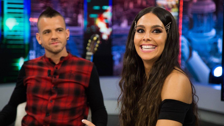 Dabiz Muñoz y Cristina Pedroche, en 'El hormiguero'. (Atresmedia)