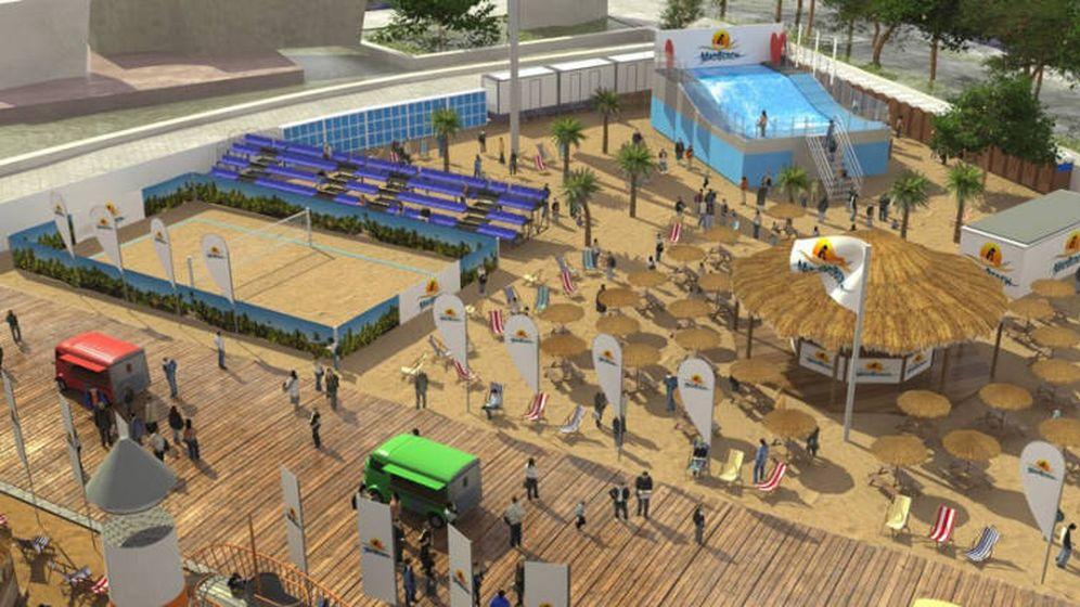 Noticias de madrid madrid tendr playa carmena anuncia for Piscina playa de madrid