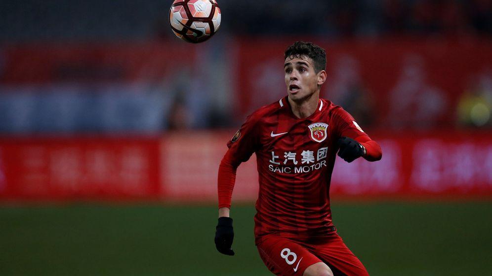 Foto: Oscar, del Shanghai SIPG, es el jugador mejor pagado de la liga china. (Reuters)