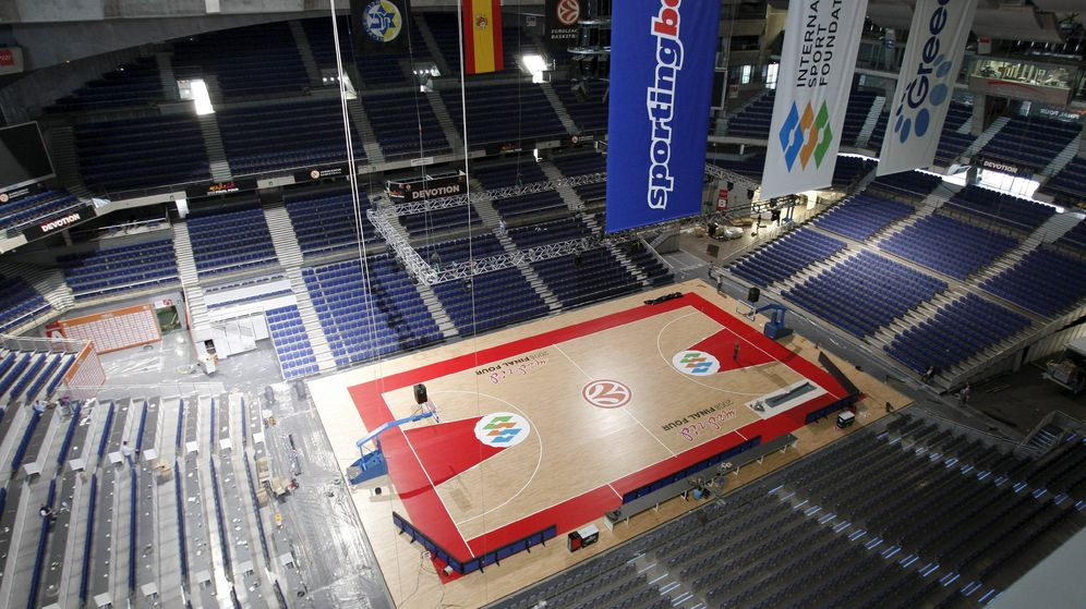 Foto: El Barclaycard Center ya acogió la Final Four en 2008 (Efe)