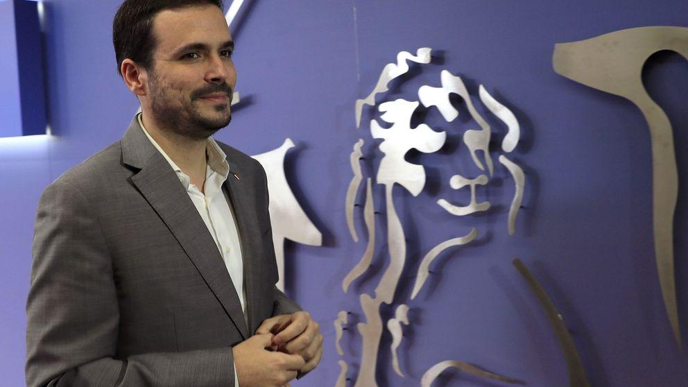 Alberto Garzón: La derecha, a través de su brazo judicial, inhabilita a Torra
