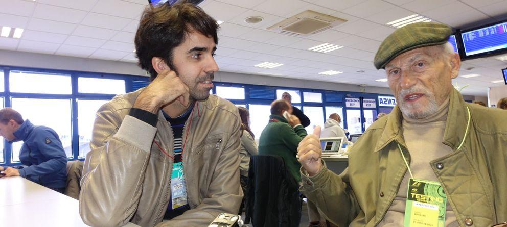 Foto: Paco Costas: Alonso es inconmensurable, un piloto casi perfecto, y mira en Ferrari...