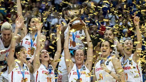La selección femenina de baloncesto, campeona de Europa