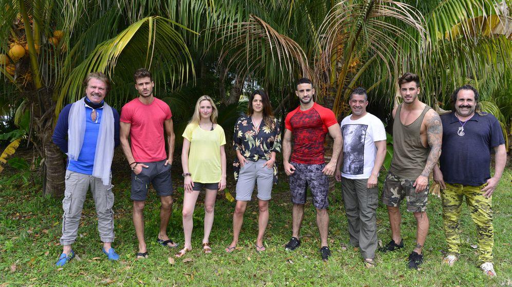 Foto: Foto grupal de varios concursantes de 'Supervivientes 2017'. (Mediaset España)