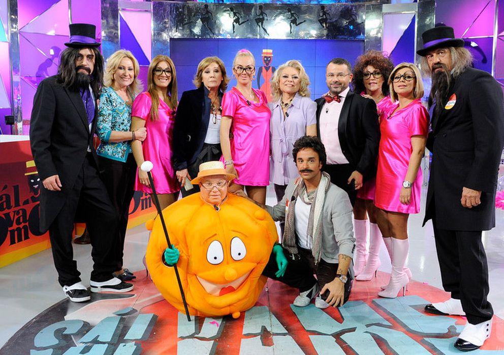 Foto: El equipo de 'Sálvame', programa de Mediaset España.