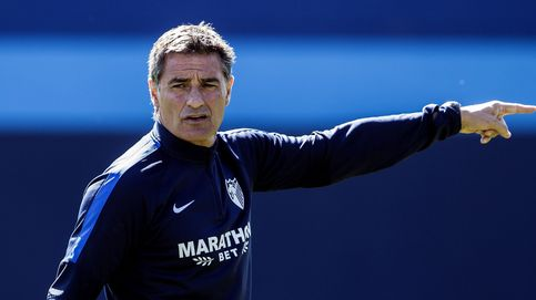Las cinco razones por las que el Málaga (aún) no ha despedido a Míchel