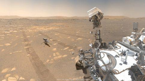 El Perseverance acelera en Marte para convertirse en el róver marciano más rápido