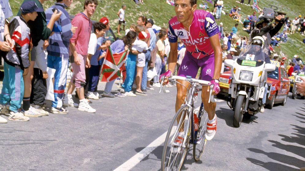 Foto: Antonio Martín, durante el Tour de Francia de 1993. (Imago)