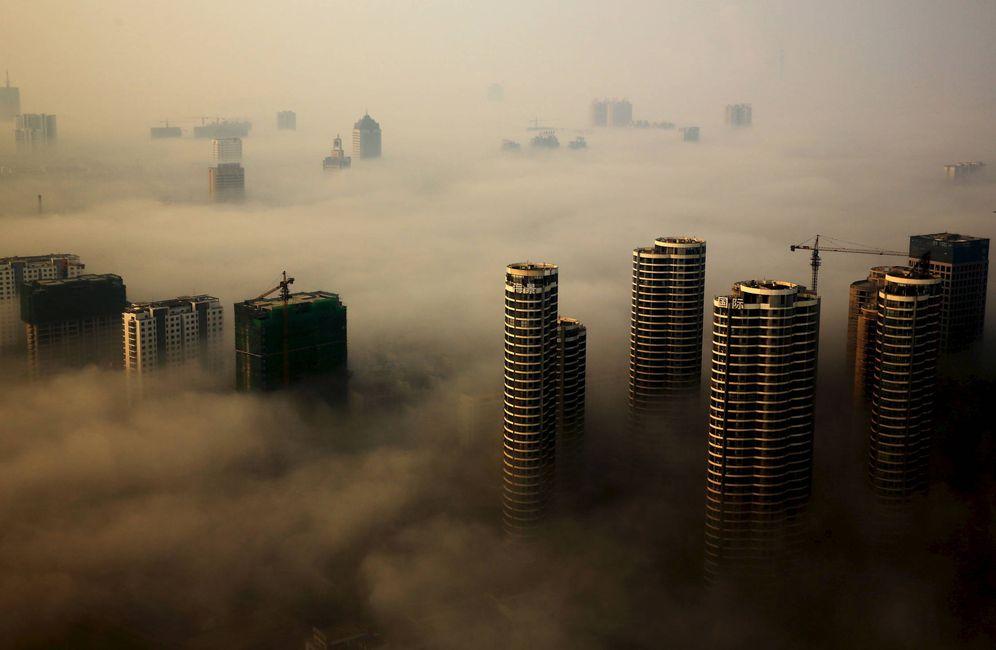 Foto: Edificios en construcción en Rizhao, provincia de Shandong, China. (Reuters)