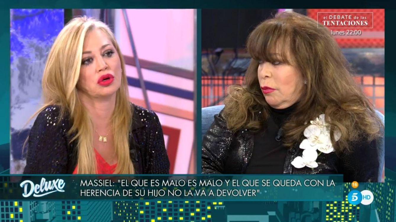 Belén Esteban enloquece en el 'Deluxe' por este comentario de Massiel sobre La Pantoja