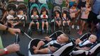 Nuevo récord nacional de reunión de gemelos y mellizos en Ucrania