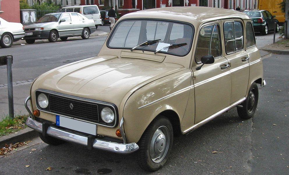 Foto: Un Renault 4 similar al que ahora conduce el Papa Francisco. (Sven Storbeck)