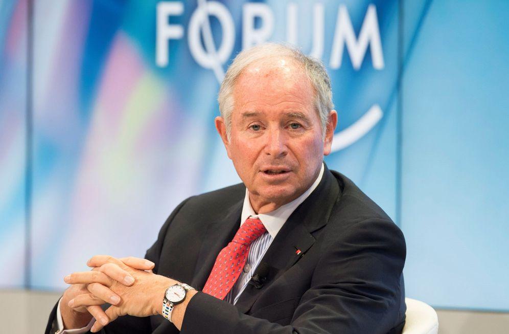 Foto: El presidente, director general y cofundador de Blackstone, Stephen A. Schwarzman. (EFE)