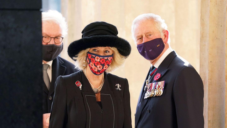 El príncipe Carlos y Camilla, en una imagen reciente. (EFE)