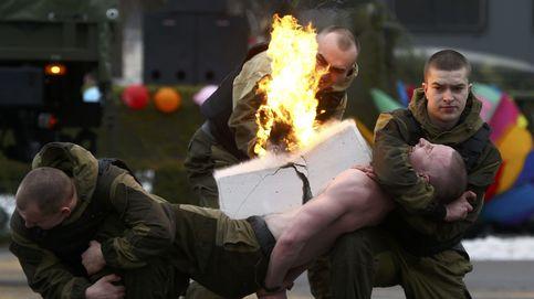 Fuerzas especiales del Gobierno bielorruso