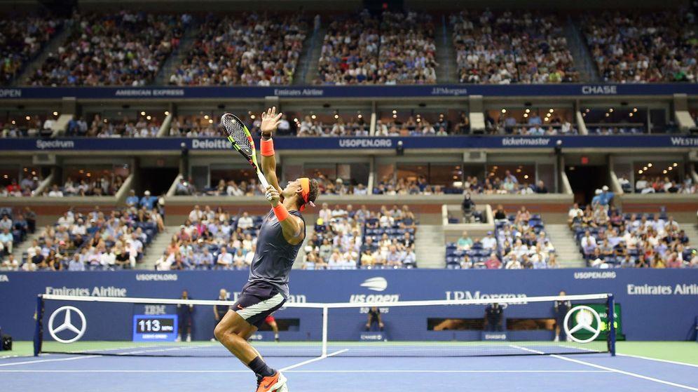 Foto: Nadal, en un partido del US Open. (Reuters)
