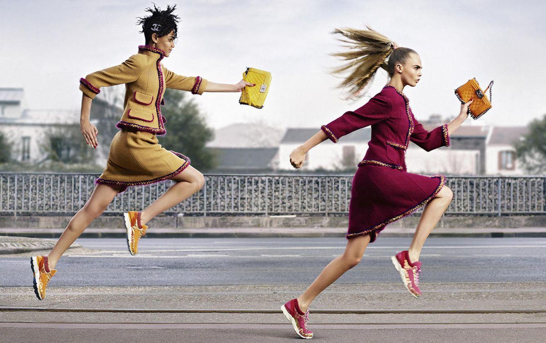 Foto: La modelo Cara Delevingne, en una imagen de campaña para Chanel