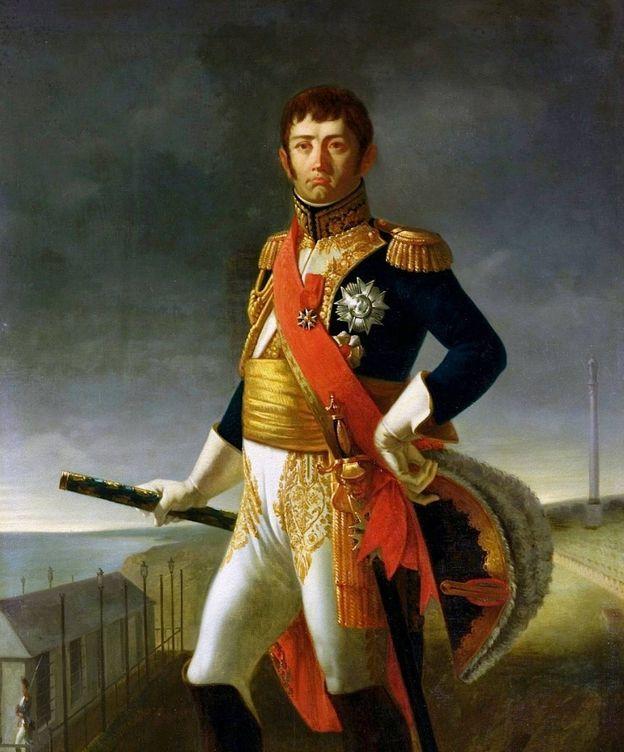 Foto: El Mariscal Soult, retratado por Louis Henri de Rudder.
