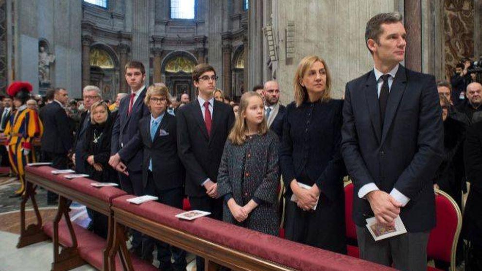 Las claves de la foto de Urdangarin y la infanta Cristina en el Vaticano