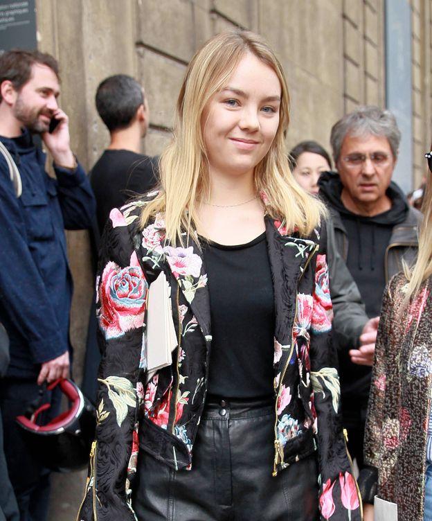 Foto: Alexandra de Hannover en el desfile de Valentino (Gtres)