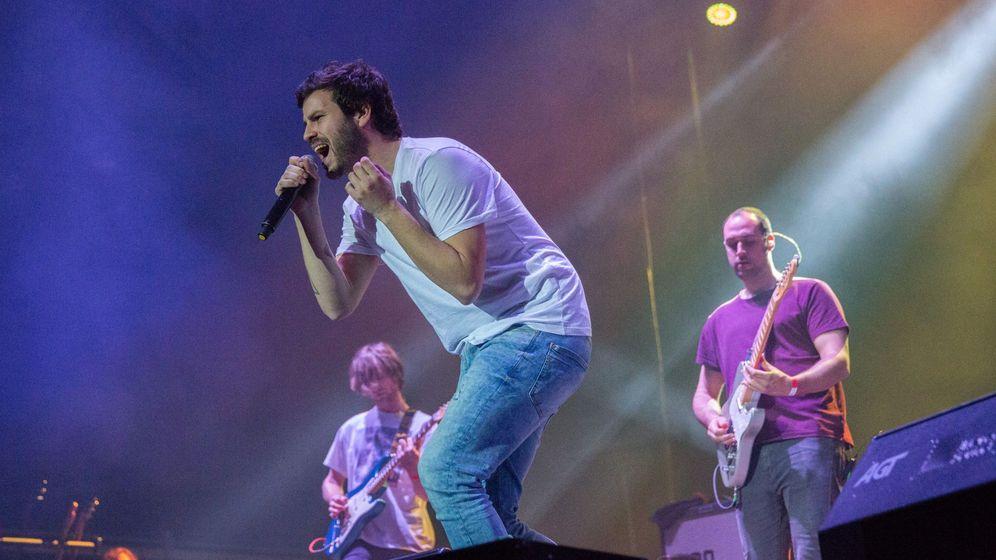 Foto: El grupo taburete durante un actuación en Logroño | EFE Abel Alonso
